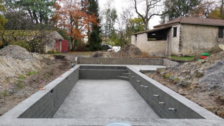 Construction piscine bordeaux piscine debordement for Construction piscine libourne